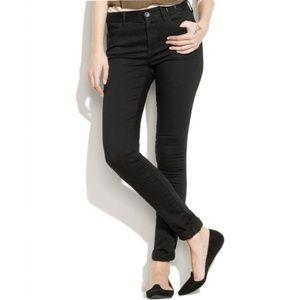 Madewell Dark Grey High Riser Skinny Jeans
